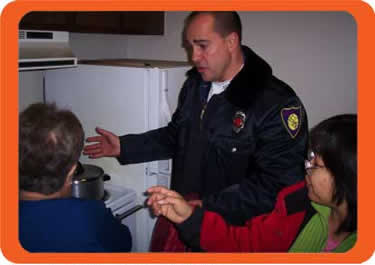 Amherst Fire Departments educates consumers on fire safety