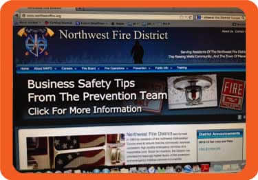 The Northwest Fire District in northwest metropolitan Tucson, Arizona,  takes a progressive and active approach with social media.