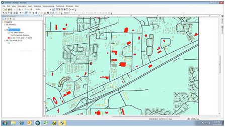 city of Madison, Alabama's city inspection program with the capability to map every street.